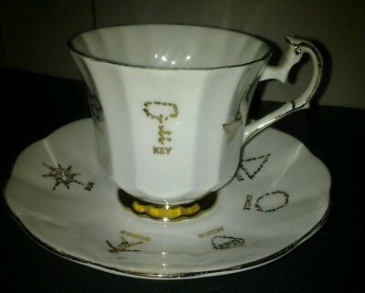Red Rose Tea Cup of Fortune English Fortune Telling Cup # 1 Tea Leaf Reading