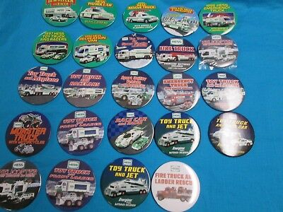 Complete Hess Pin Back Button Collection 1992-2015 All New