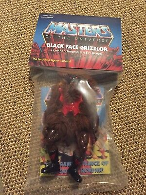 MotU, Masters of the Universe, Custom, Black Face Grizzlor