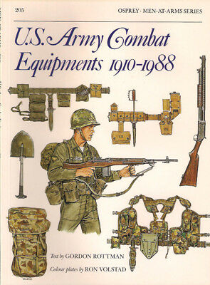 P35 Osprey Men-At-Arms Series 205: U.S. ARMY COMBAT EQUIPMENTS 1910-1988