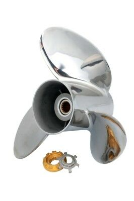 Mercury, Honda - Stainless steel SOLAS HR titan 3 Propeller  Part# 1551-150-14