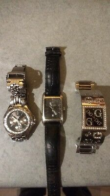 Job Lot Of Men's and woman's watches with all new batteries.