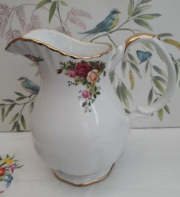 "Royal Albert ""Old Country Roses""  Ex.Large Wash stand Jug ***VERY RARE ITEM***"