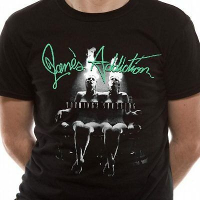 Jane's Addiction - Nothing's Shocking Censored T Shirt Size:S,L - NEW & OFFICIAL