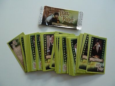 Complete Set of Harry Potter and the Sorcerers Stone Trading Cards