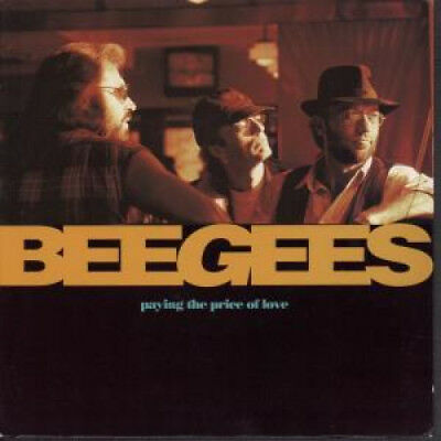 """BEE GEES Paying The Price Of Love 7"""" VINYL UK Issue Pressed In France Polydor"""