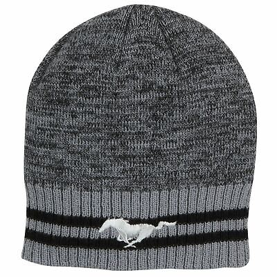 Ford Mustang Striped Knit Beanie FRD1246156
