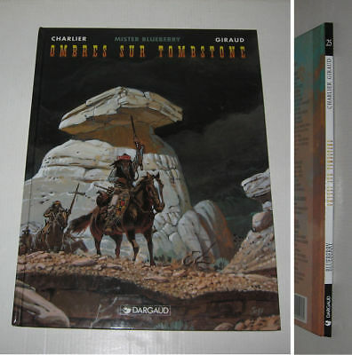Mister Blueberry,ombres Sur Tombstone,eo 1997 Ttbe,giraud,charlier,dargaud