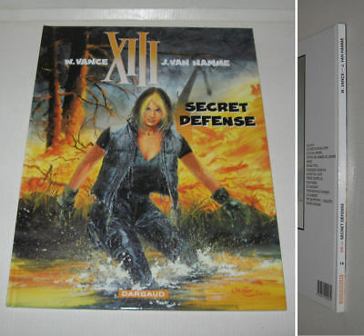 Xiii N° 14,secret Defense,eo 2000 Ttbe Vance,van Hamme,13,treize,dargaud