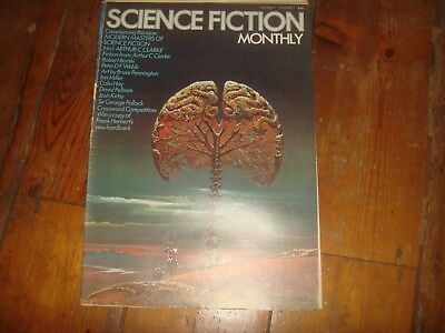 SCIENCE FICTION MONTHLY Vol. 1 #7   New English Library Tabloid 1974 FN