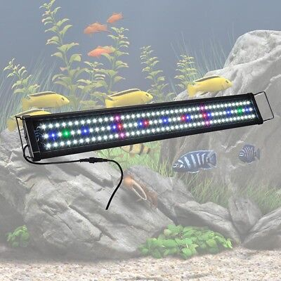 "Aquarium Full Spectrum Multi-Color LED Light 0.5W 129 LED For 36""-43"" Fish Tank"