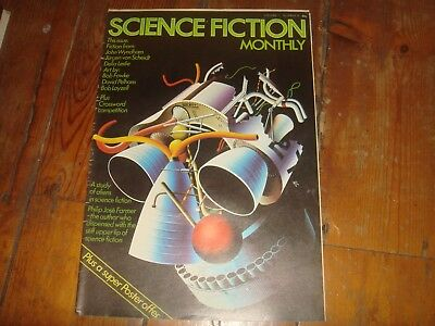 SCIENCE FICTION MONTHLY Vol. 1 #9   New English Library Tabloid 1974 FN