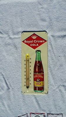 Royal Crown cola 1950's Thermometer Super Nice!
