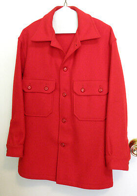 Vintage Official Boy Scouts of America Red Wool Jacket 50s - 60s?
