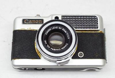 Canon Demi S Half Frame Camera FOR PARTS ONLY