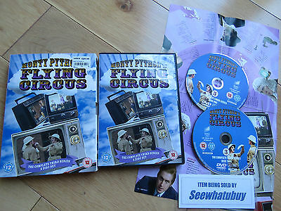 Monty Python's Flying Circus - Series 3 - Complete (DVD, 2-Disc Set) VGC