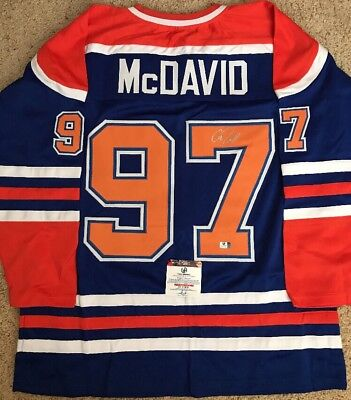 size 40 c282a dd35b connor mcdavid autographed jersey
