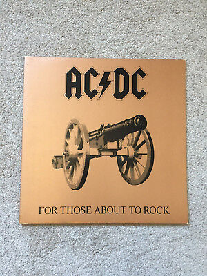 AC/DC For Those About To Rock EX First 1981 Pressing