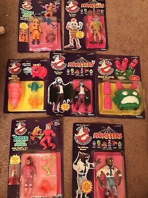 Lot Of Ghostbusters Kenner 1986 Figures Monsters Dracula Zombie Janine Peter New