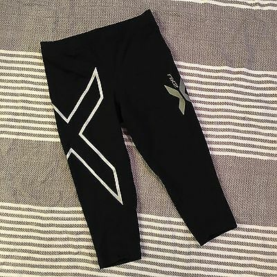 2XU Women Compression Tights Fitness Shorts Running Women Sports MED Yoga Shorts