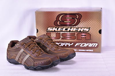 Men's Skechers 64276/CDB Diameter-Murilo Sneakers Dark Brown