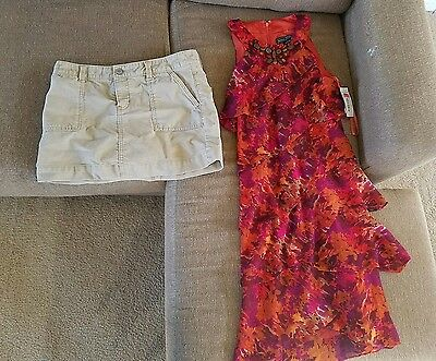 Women's size 8 clothes mixed lot of 8 (Sz8m)