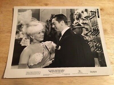 Vintage 1951 Movie Lobby Card  MEET ME AFTER THE SHOW Original 8x10