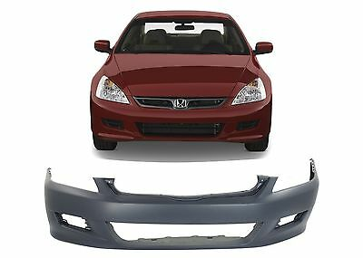 Replacement Front Bumper Cover For 2006-2007 Honda Accord Coupe New Free Ship