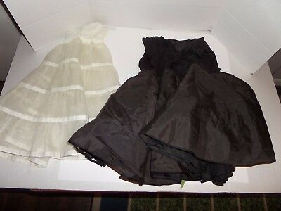 Lot of 2 Vintage Crinoline Slips-Eye-Ful & Fantasy Lot #9