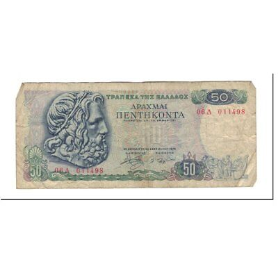 [#590583] Greece, 50 Drachmai, 1978-12-08, KM:199a, VG(8-10)