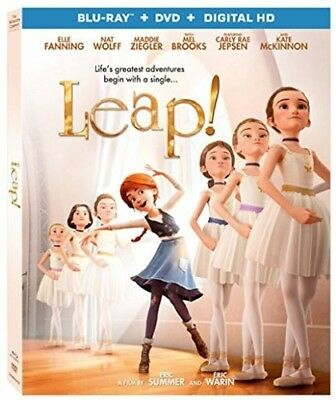 Leap! [New Blu-ray] 2 Pack