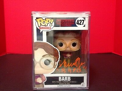 Stranger Things Barb Funko POP Figure Signed by Shannon Purser