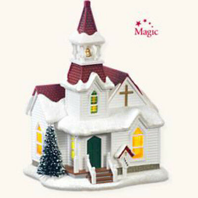 2008 Hallmark CANDLELIGHT SERVICES #11 Countryside Church Ornament *Priority*