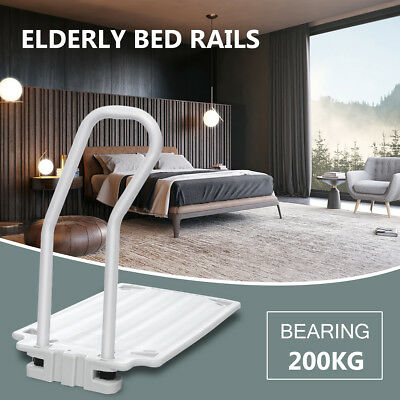 Grip Bed Rail Mobility Disability Aid Support Bar Handle Elderly Rails 200KG NEW
