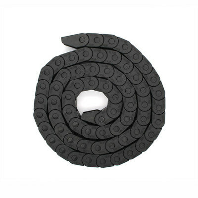 "10mm x 15mm CNC Machine Tool Plastic Carrier 1M 40"" Drag Chain Towline Cable"