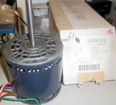 Used -- Emerson 3 Speed Blower Motor K55Hxbba-5900 1/2 Hp 115V 1100 Rpm