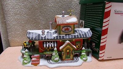 Dept 56 North Pole Series Special Edition Tinkers Caboose Cafe # 56896 EUC