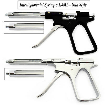 Premium Surgical Anesthesia Intraligamental Aspirating Syringes Dental Lab New