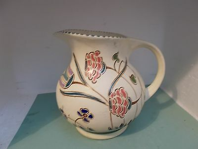 HONITON Devon Pottery hand painted Jug (approx 15.5cm)