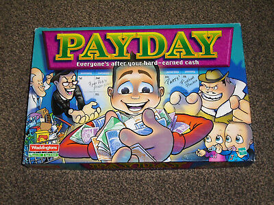Payday Game : 2000 Edition By Waddingtons - In Vgc (Free Uk P&p)