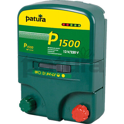 Patura Multi-Function Electric Fence Energisers for 230 Volt + 12 Volt