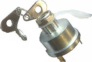 LUCAS TYPE TRACTOR IGNITION STARTER SWITCH Start-Off-Glow CARGO 181236