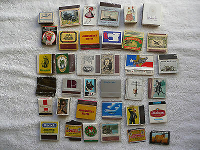 Approx 35 foreign Match books, Matchboxes and Labels many Vintage