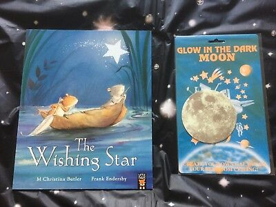 The Wishing Star (Paperback), Children's Books New with GLOW IN THE DARK MOON