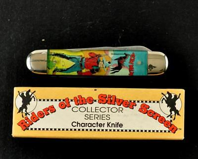 Vintage Camillus Riders of the Silver Screen Muskrat Knife TOM MIX Excellent NOS