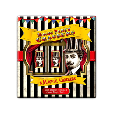 Robert Frederick Magic Party Christmas Crackers 6 Pack