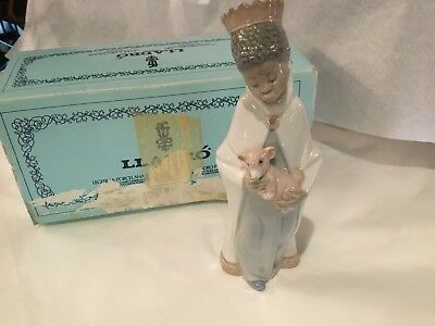 Authentic & Signed In Original Box Lladro King Baltasar Must See No Reserve