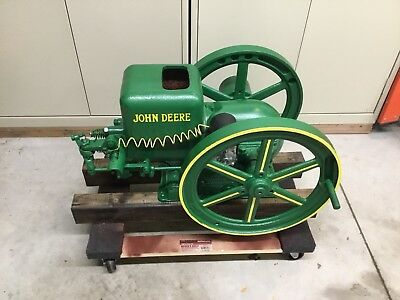 John Deere 1 1/2 hp  Model E Hit N Miss Engine Waterloo Boy stationary HIT MISS