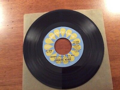 Looking Glass Brandy (You're A Fine Girl) And Golden Rainbow 45 Record