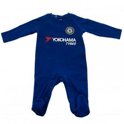 Chelsea Sleepsuit 6/9 Months 17/18 Season Babygrow New Official Licensed Product